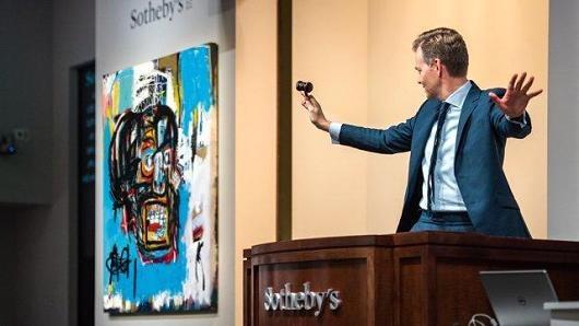عکس | حراج اثری که نبوغ نقاش مشهور را نشان میدهد