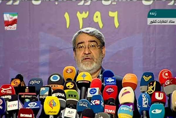 فیلم | آخرین آمار شمارش آرا | پیروزی رئیس جمهور روحانی اعلام شد