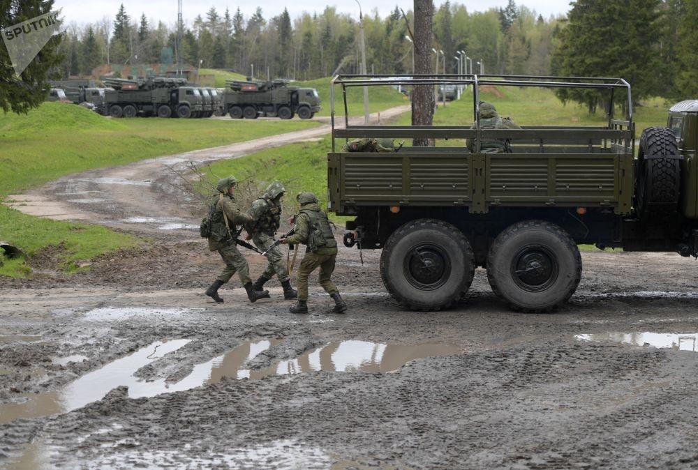 تصاویر | رزمایش یگان دفاعی هوایی ارتش روسیه