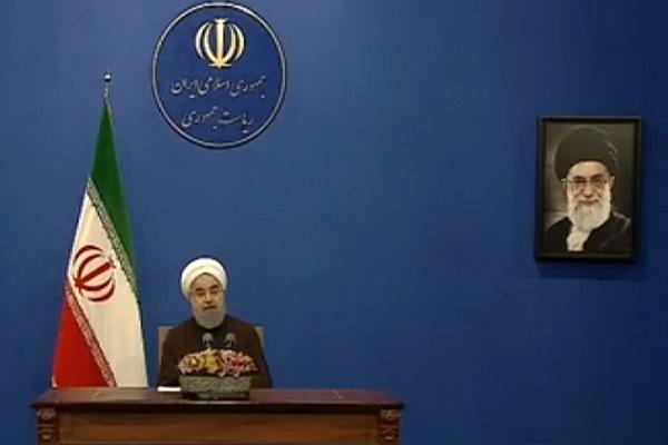 فیلم | اولین گفتگوی مستقیم حسن روحانی با مردم بعد از پیروزی در انتخابات