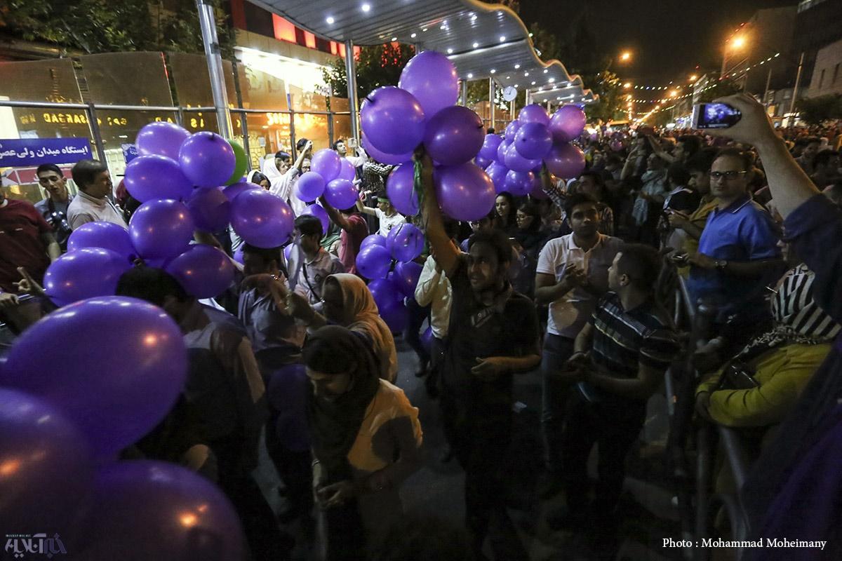 تصاویر | تهران؛ ساعاتی بعد از پیروزی رئیسجمهور روحانی در انتخابات