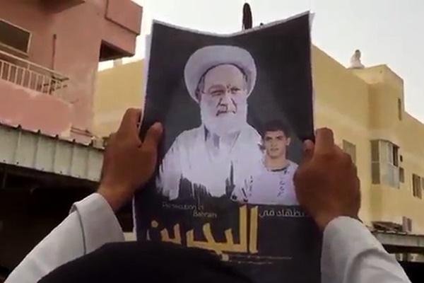 فیلم | تظاهرات مردم بحرین علیه رژیم آلخلیفه
