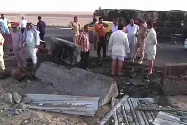 فیلم | انفجار انتحاری یک خودرو در بصره توسط داعش