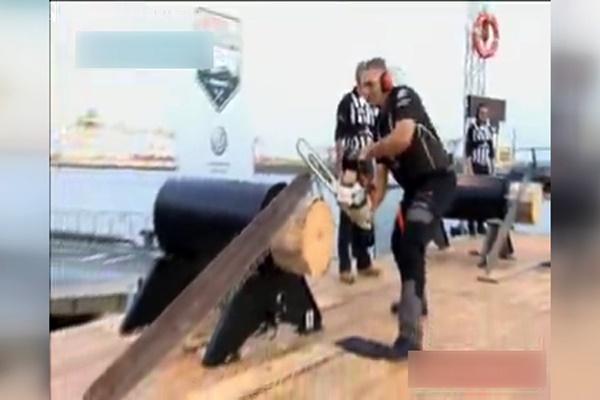 فیلم | مسابقات چوببری در آلمان