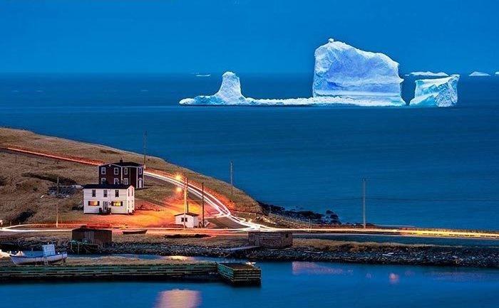 تصاویر | «کوچه کوه یخ» جاذبه توریستی چند روزه کانادا
