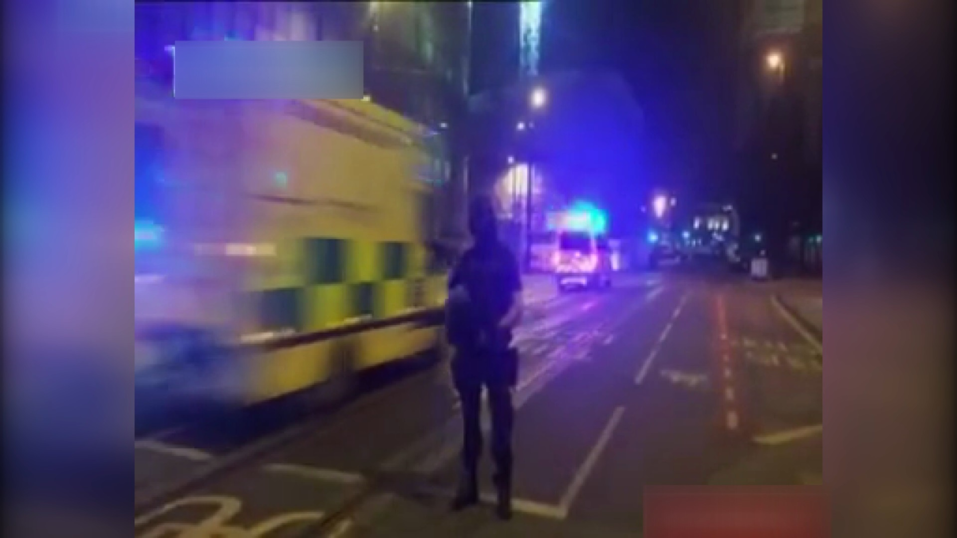 فیلم   فضای امنیتی منچستر بعد از انفجار کنسرت در شب گذشته