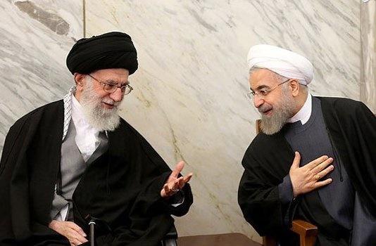 اولین دیدار روحانی با رهبر انقلاب بعد از پیروزی در انتخابات ریاستجمهوری
