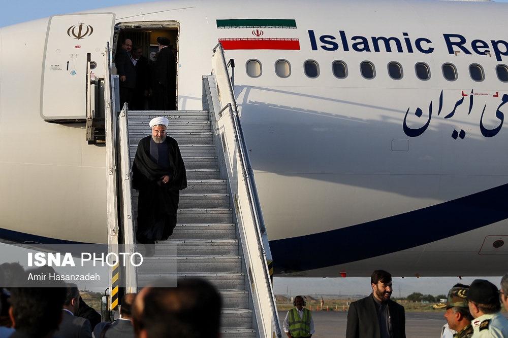 تصاویر   سفر رییس جمهور به مشهد