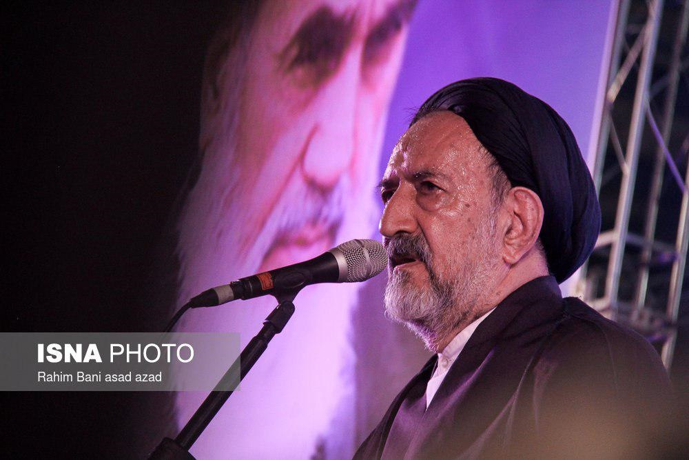 تصاویر | چهرههای حاضر در جشن پیروزی روحانی