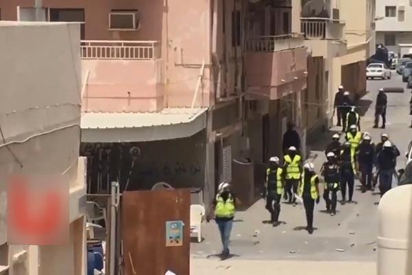 فیلم | شلیکهای پیاپی نظامیان آل خلیفه در الدراز و فریادهای وحشتزده مردم