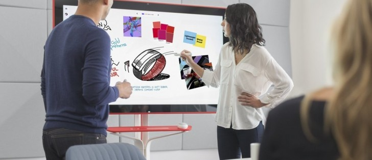 عرضه وایتبرد هوشمند ۵۵ اینچی گوگل برای محیطهای اداری