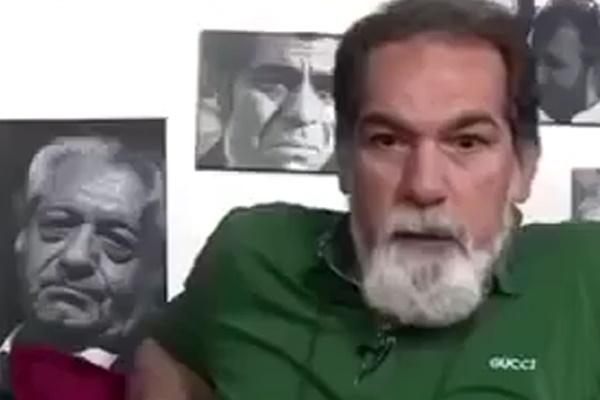 فیلم | سعید سهیلی در مقابل دوربین کارت خانه سینمایش را آتش زد!