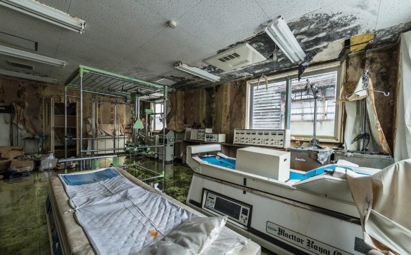 تصاویر   این بیمارستان ژاپن به درد ساخت فیلم ترسناک میخورد!
