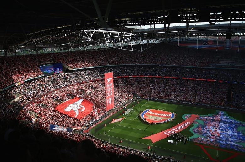 تصاویر | جشن قهرمانی آرسنال در جام حذفی انگلیس