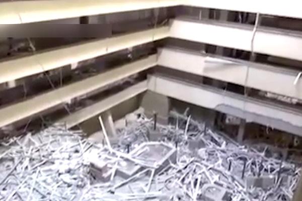 فیلم   آزادسازی هتل بینالمللی موصل از دست داعشیها