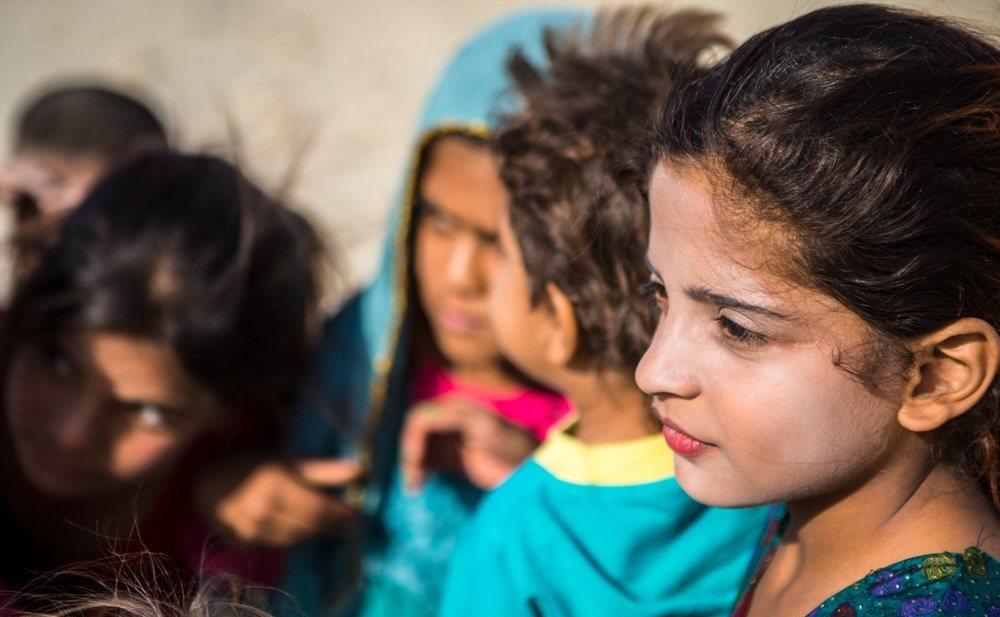 تصاویر | کودکان زیبای یک بندر دورافتاده