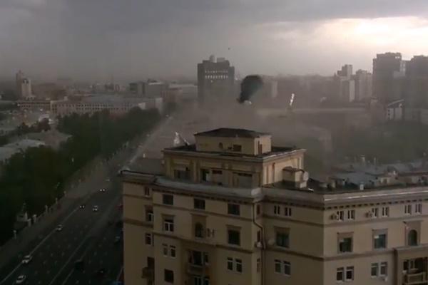 فیلم   طوفان مرگبار مسکو که جان ۱۳ نفر را گرفت