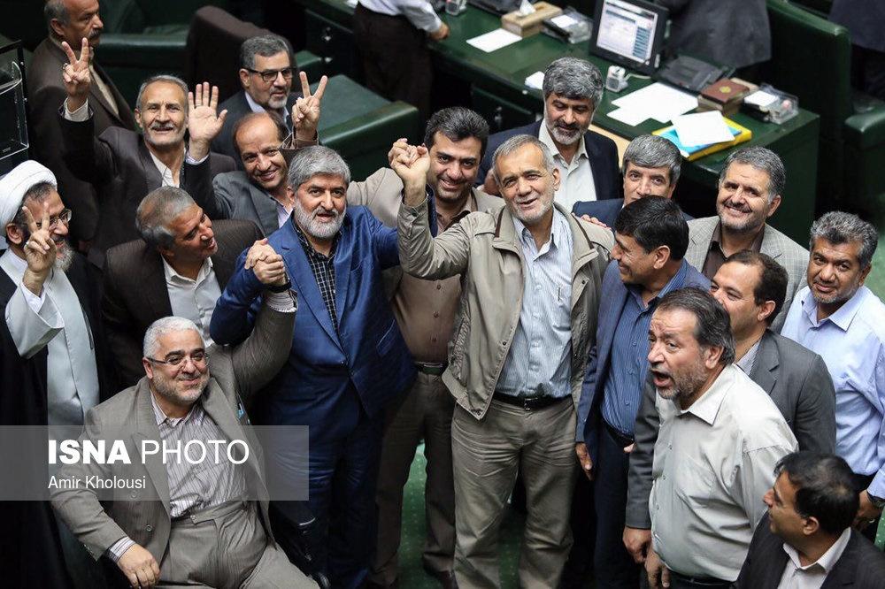 تصاویر | حال و هوای مجلس در روز انتخاب هیات رئیسه