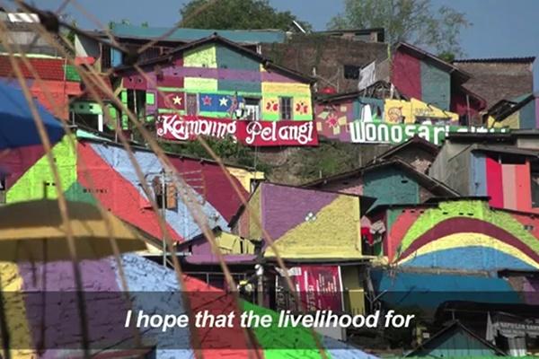 فیلم | روستایی که به جای خراب شدن تبدیل به جاذبه گردشگری شد