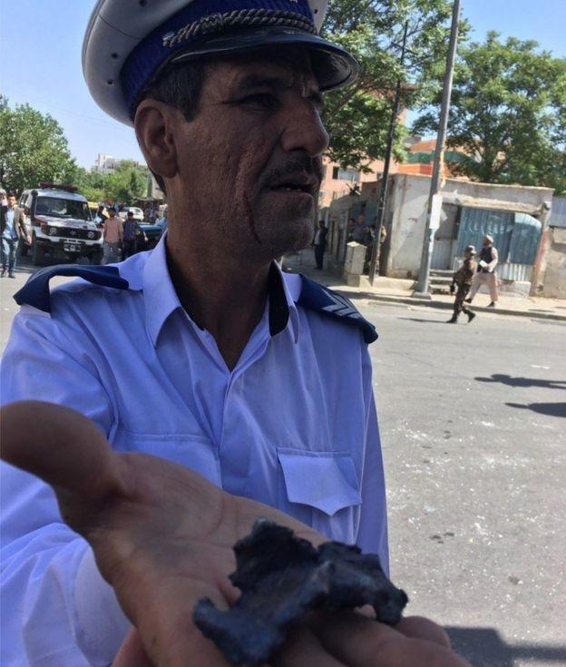 تصاویر اولیه از انفجار تروریستی کابل | نخستین آمار تلفات؛ ۵۰ نفر