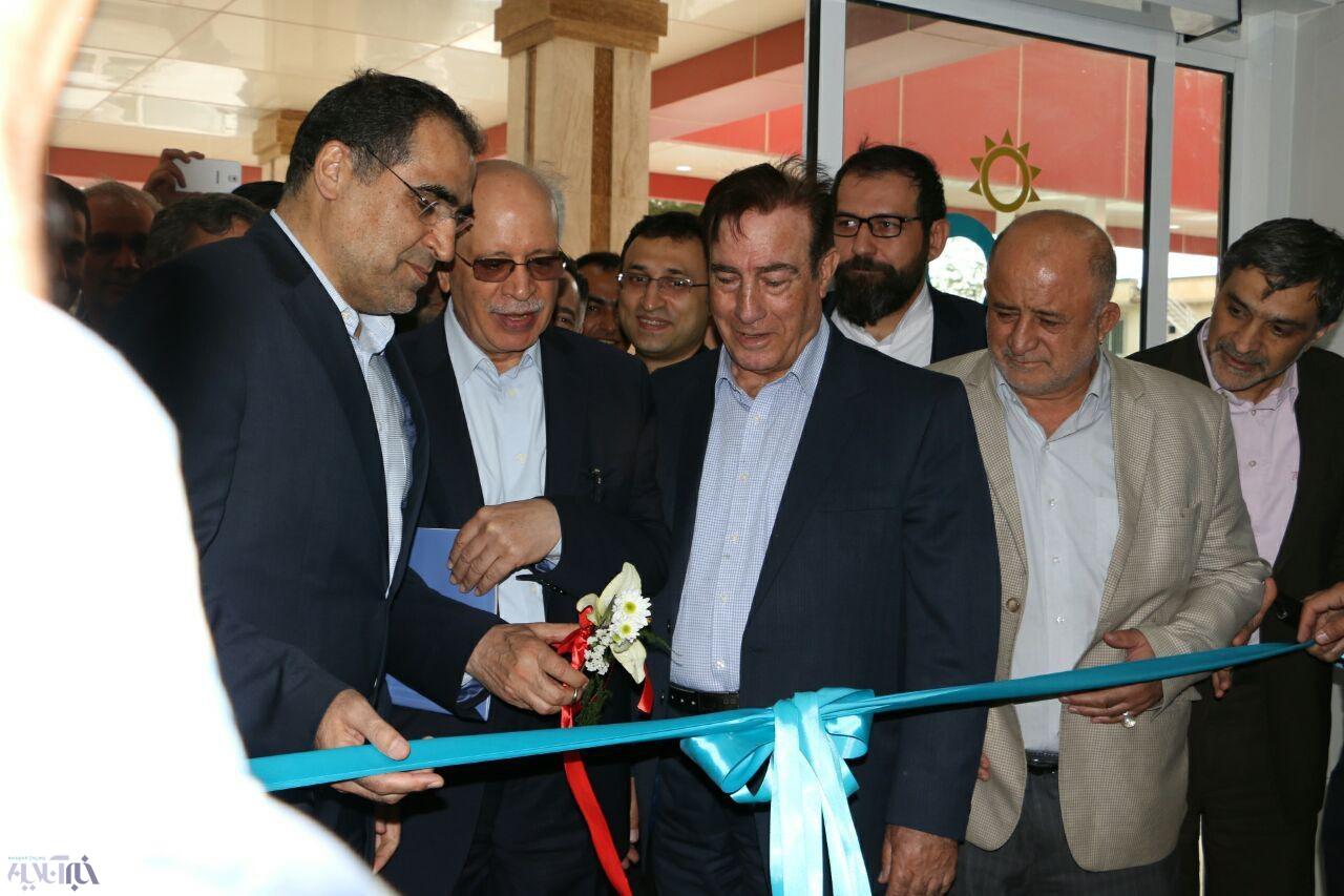 پایان سفر وزیر بهداشت با کلنگزنی بیمارستان آیتالله هاشمیرفسنجانی