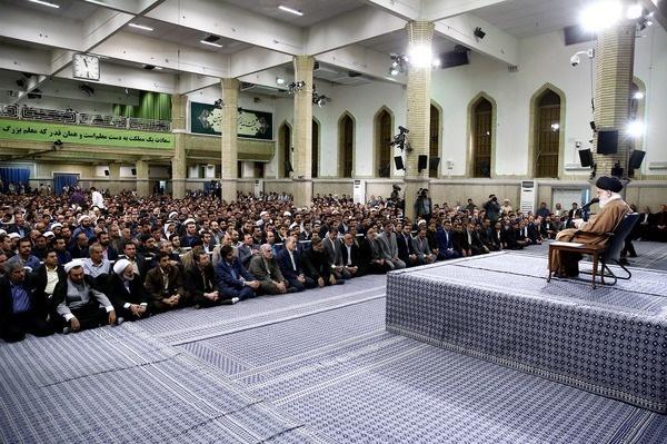 تصاویر | دیدار معلمان و فرهنگیان با رهبر انقلاب