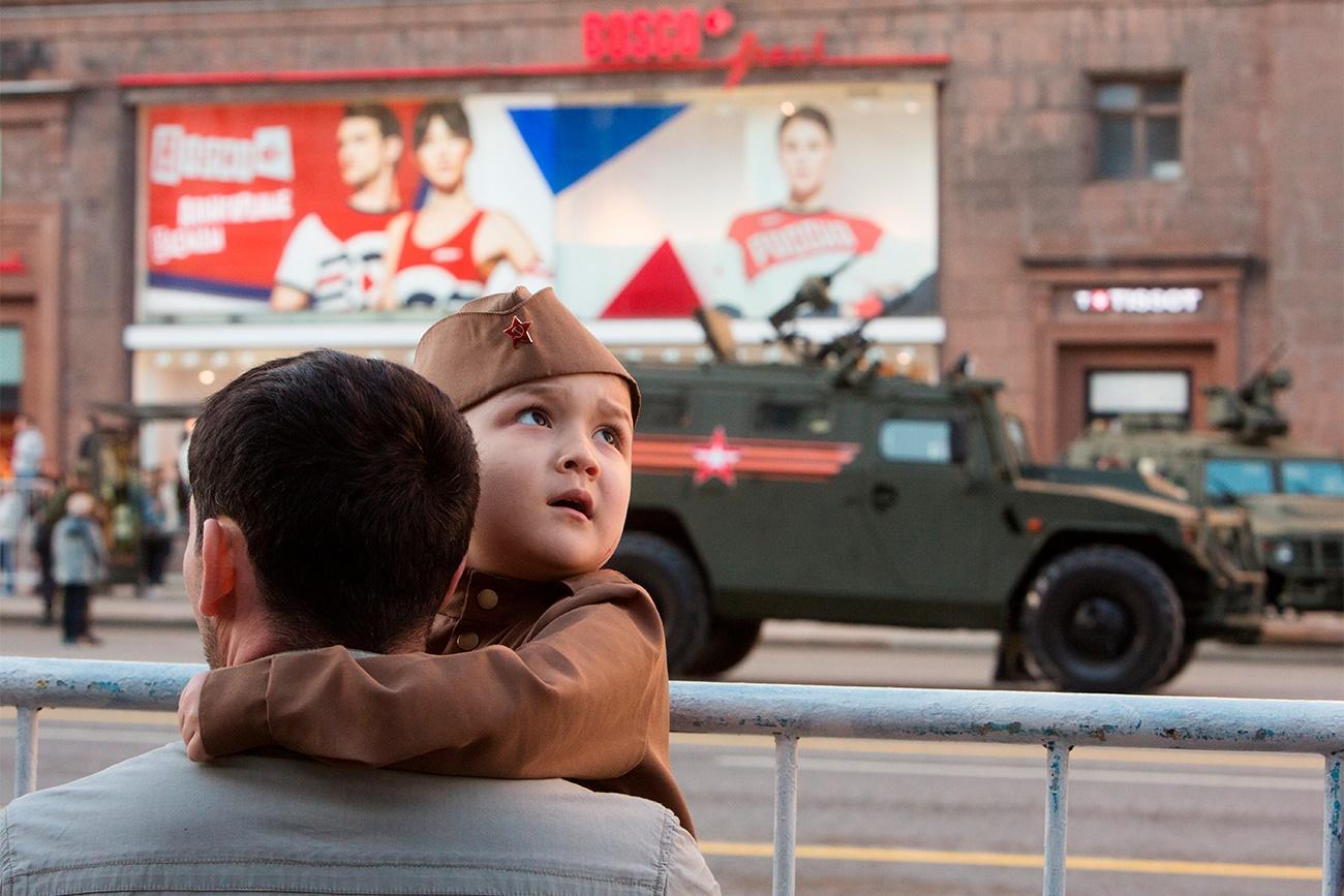 تصاویر | برنامه ویژه روسها برای سالگرد پیروزی ارتش سرخ بر نازیها