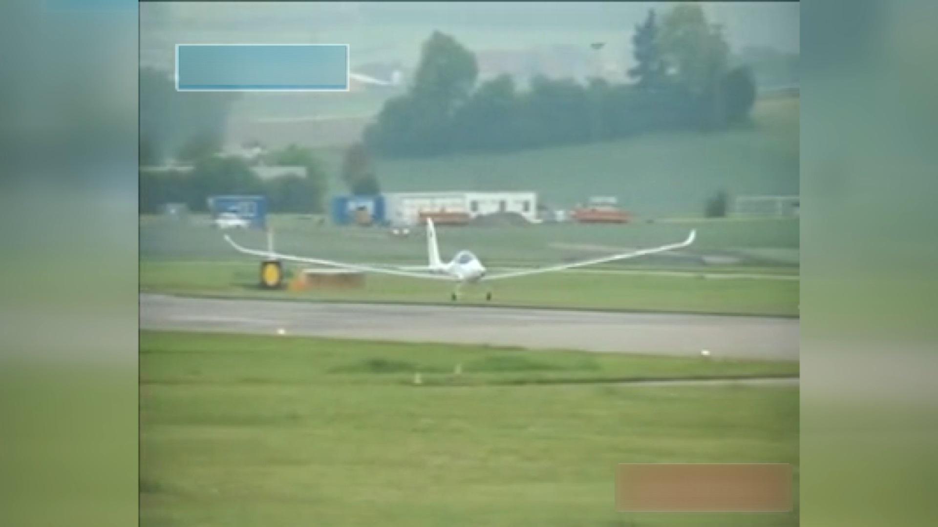 فیلم | آزمایش موفقیت آمیز هواپیمای خورشیدی در سوئیس