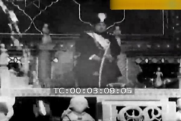 فیلم   اولین تصاویر منتشر شده از تاجگذاری احمدشاه قاجار در کاخ گلستان