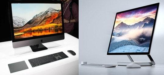 کدامیک بهتر است: آی مک پرو اپل یا سرفیس استودیو مایکروسافت؟