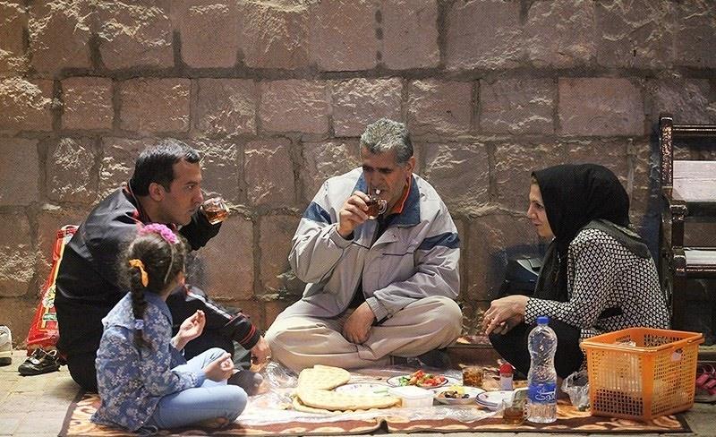 تصاویر   شبنشینیهایی که فقط در ماه رمضان امکانپذیرند