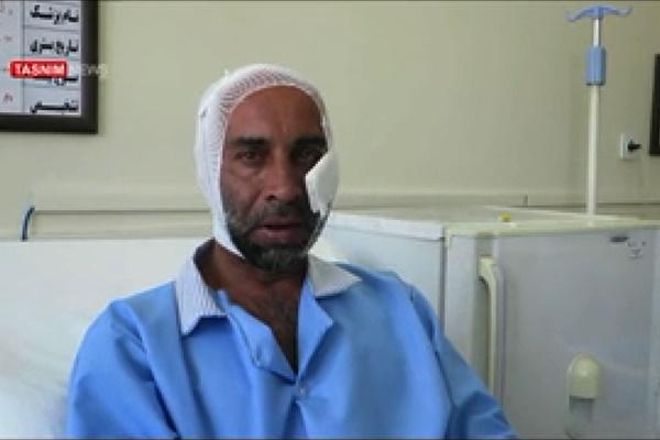 فیلم   روایت اولین مجروح حادثه حرم امام(ره) از حمله داعش