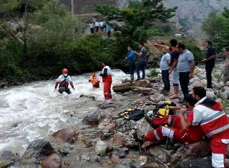 پیکر دختر ۳ ساله تهرانی در رودخانه دوهزار تنکابن پیدا شد