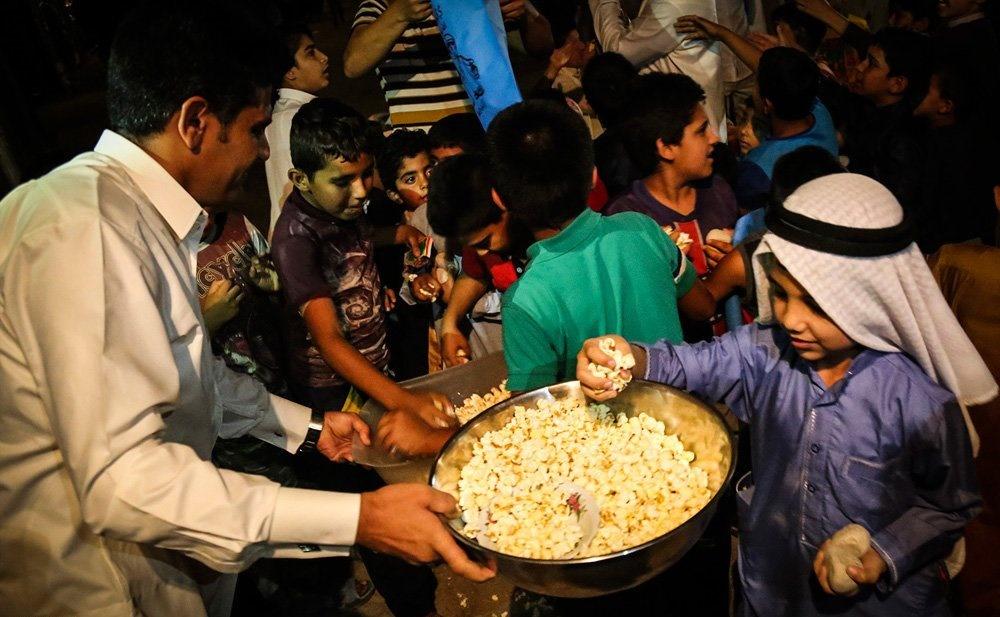 تصاویر | گرگیعان؛ جشنی برای تولد نور چشم پیامبر