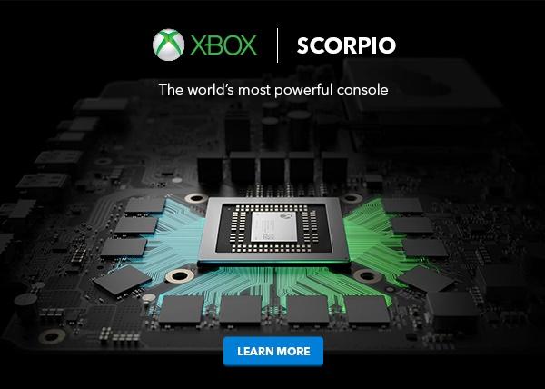 ایکس باکس اسکورپیو نام قویترین کنسول گیم مایکروسافت در ای۳/ عکس