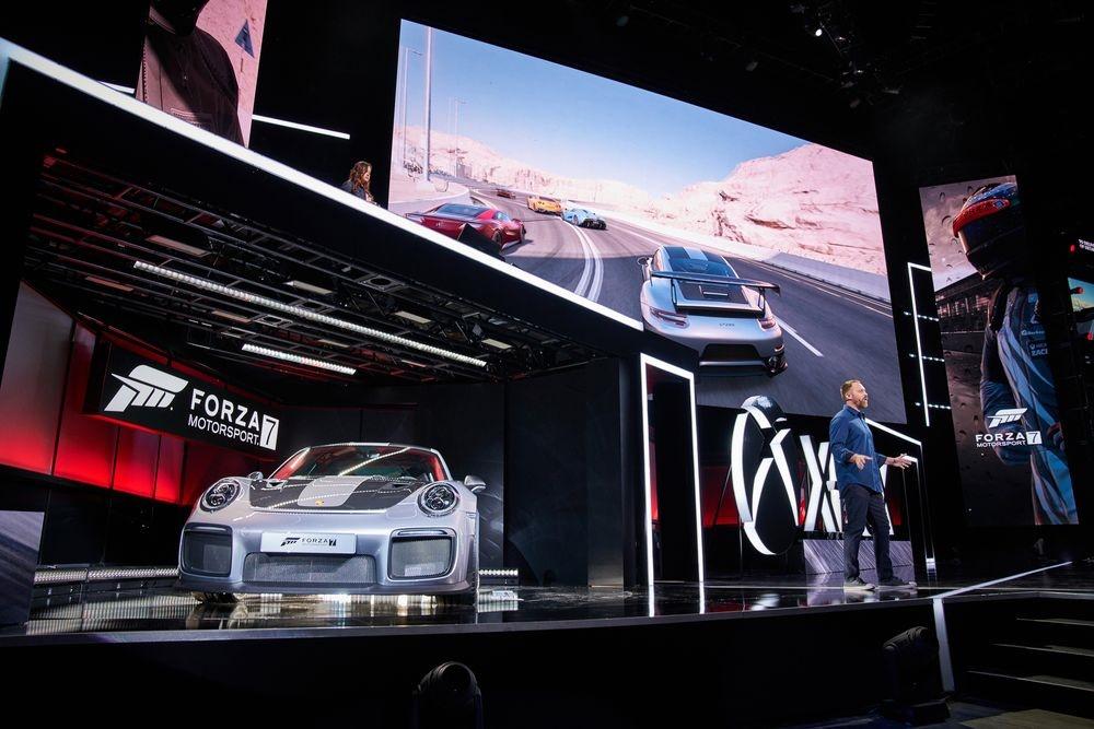تصاویر رونمایی از گیمِ فورزا موتوراسپرت ۷ همزمان با رونمایی از خودروی پورشه ۹۱۱ جی تی ۲ آر اس