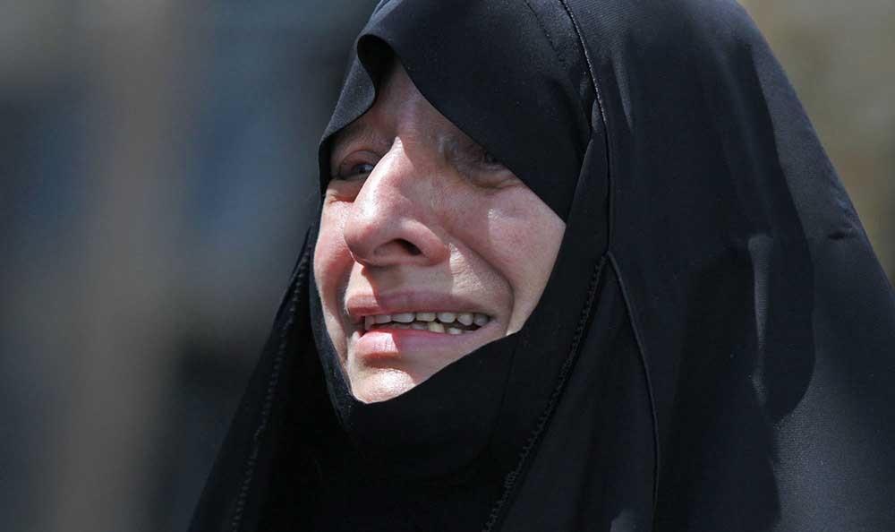 همسر آیت الله علم الهدی عکس تشییع جنازه سکینه ریخته گر زاده اخبار مشهد آیت الله علم الهدی