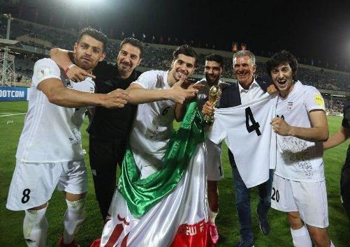 روایت سایت فیفا از شادی ایران در شب صعود به جام جهانی