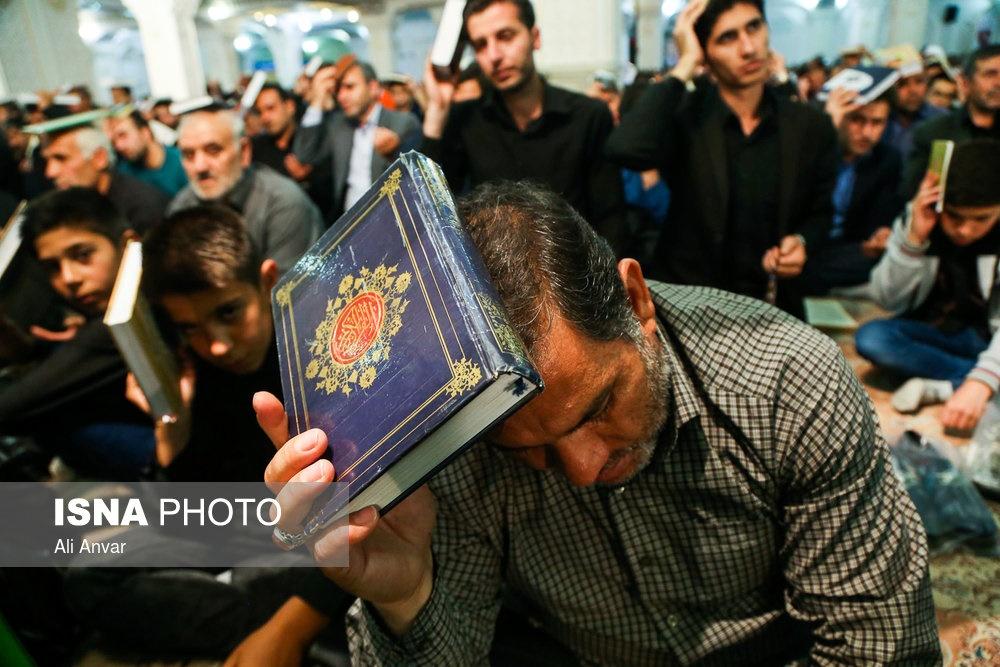 تصاویر   حال و هوای شب قدر در گوشه و کنار ایران
