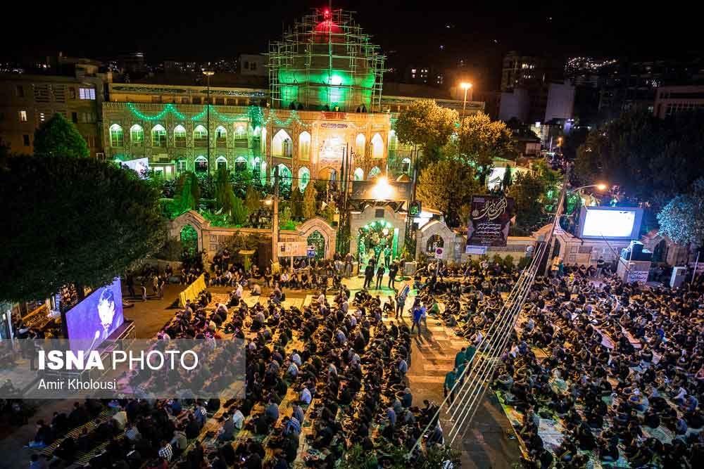 تصاویر | احیای تهرانیها در شب نوزدهم ماه مبارک رمضان