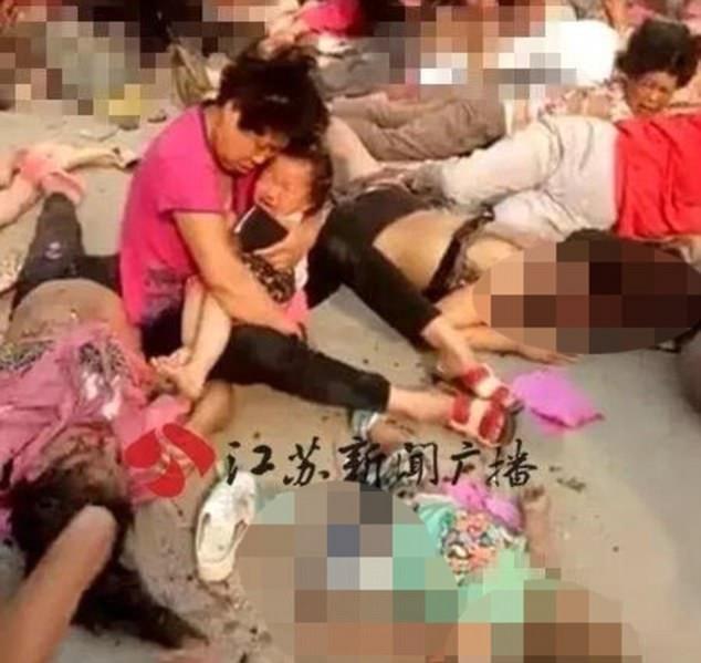 تصاویر | انفجار مهدکودک در چین با حداقل ۷ کشته