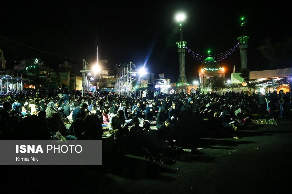 تصاویر | شبزندهداری مردم سراسر کشور در شب بیست و یکم رمضان