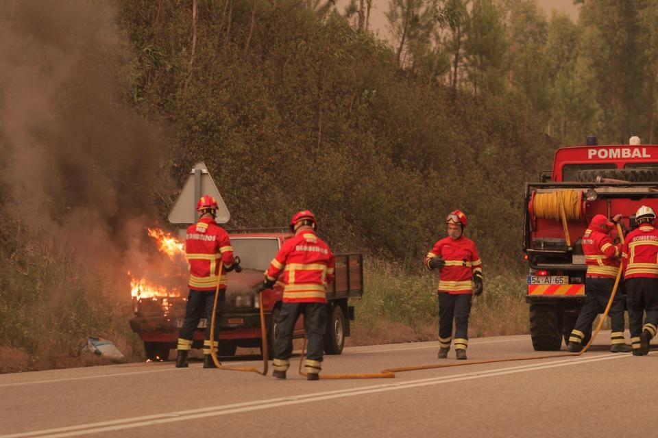 تصاویری از آتشسوزی مرگبار در جنگلهای پرتغال | شمار کشتهها به ۵۷ نفر رسید