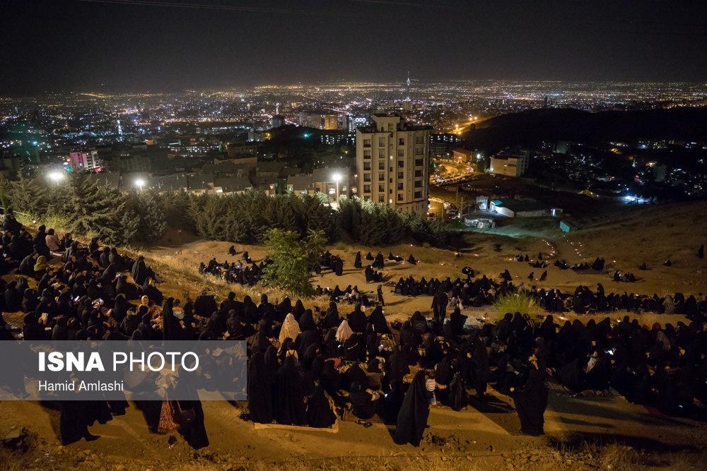 تصاویر | شبزندهداری ایران در سومین شب قدر
