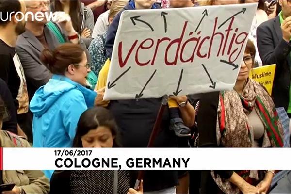 فیلم | راهپیمایی آرام آلمانیها علیه تندروی و افراطگرایی