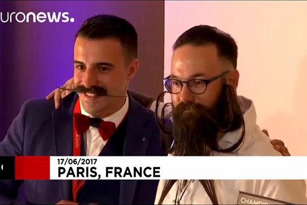 فیلم   مسابقه ریشوهای فرانسوی در پاریس!