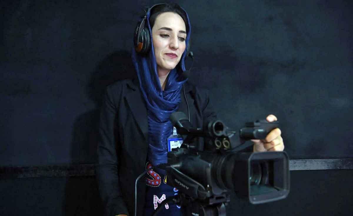 تصاویر | زنتیوی؛ اولین شبکه تلویزیونی زنان در افغانستان