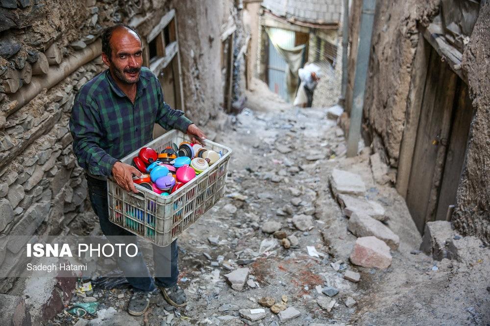 تصاویر | رسمی برای افطار در یک روستای ۳۰۰۰ ساله
