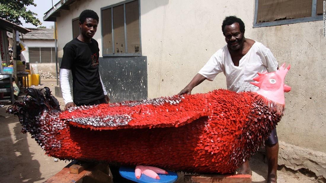 تصاویر | تابوتهای رنگارنگ و فانتزی مردگان در کشور غنا
