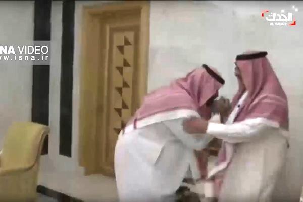فیلم   بیعت ولیعهد جدید عربستان با ولیعهد برکنارشده